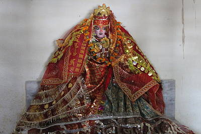 Goddess Durga Photograph - Durga Devi, Near Kainchi by Jennifer Mazzucco