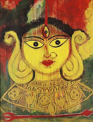 Beautiful Durga Paintings Fine Art America