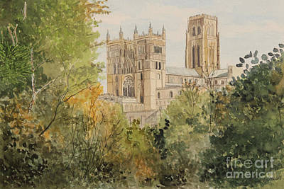 Painting - Durham From South Street by George Levitt