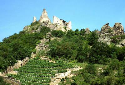 Digital Art - Durnstein Castle by Max DeBeeson