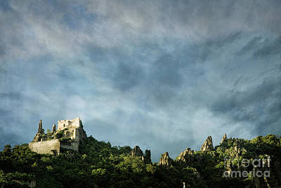 Photograph - Durnstein Castle by Scott Kemper