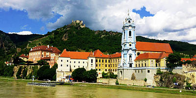 Photograph - Durnstein On The Danube by Loretta Luglio