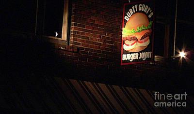 Burger Joint Photograph - Durty Gurts by David Bearden