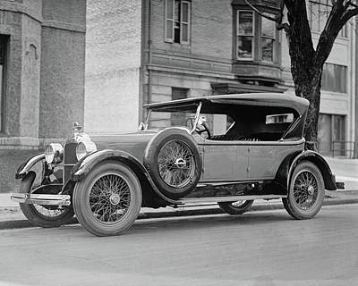 Photograph - Dusenberg Car Circa 1923 by Anthony Murphy