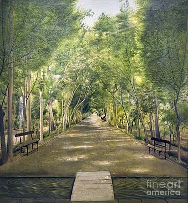 Painting - Dushan Tappe One Of Tehran's Suburbs by Celestial Images
