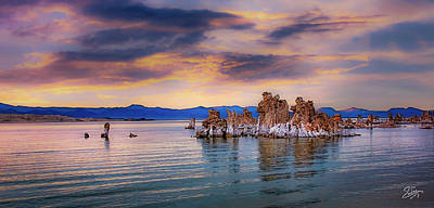 Photograph - Dusk At Mono Lake by Endre Balogh