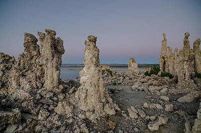 Photograph - Dusk At Mono Lake by Margaret Pitcher