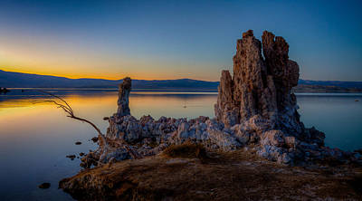 Photograph - Dusk At Mono Lake by Rikk Flohr