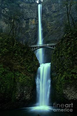 Photograph - Dusk At Multnomah by Adam Jewell