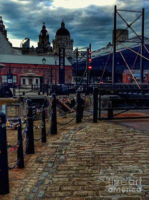 Photograph - Dusk At Pier Head by Joan-Violet Stretch