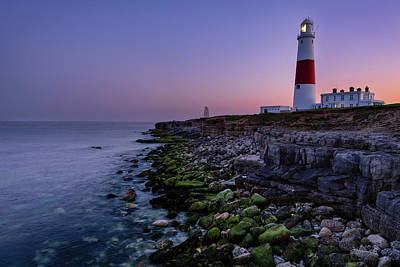 Photograph - Dusk At Portland Bill by Michael Blanchette