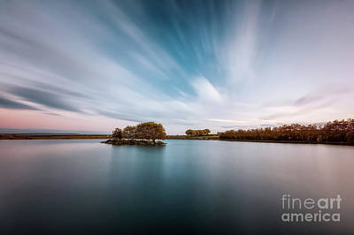 Photograph - Dusk At Redcar Tarn by Mariusz Talarek