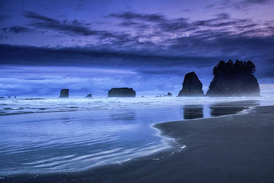 Photograph - Dusk At Second Beach by Spencer McDonald