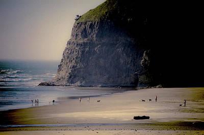 Photograph - Dusk At The Beach by Amyn Nasser
