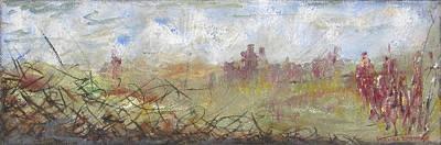 Painting - Dusk by Brenda Berdnik