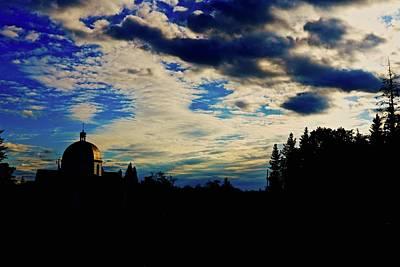 Photograph - Dusk Church by Brian Sereda