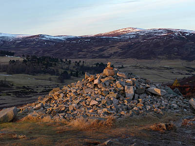 Photograph - Dusk In Glen Gairn by Phil Banks