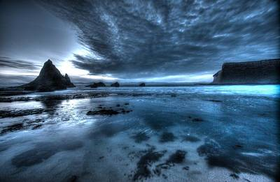 Photograph - Dusk In Half Moon Bay by John King