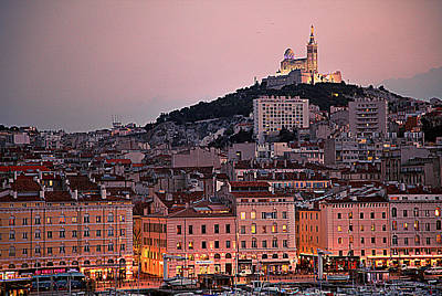 Photograph - Dusk In Marseilles by Hugh Smith