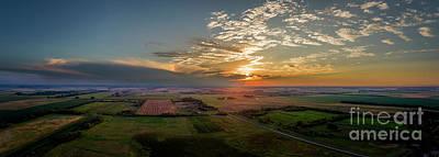 South Dakota Photograph - Dusk In The Heartland by Patrick Ziegler
