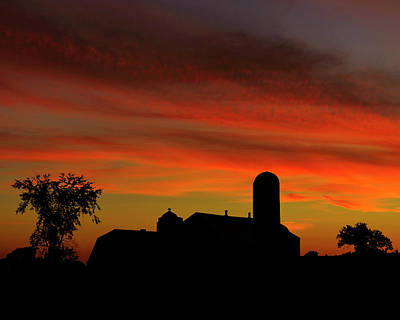 Photograph - Dusk In The Ottawa Valley by Tony Beck