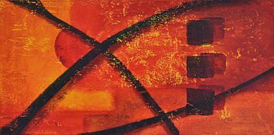 Painting - Dusk by Leana De Villiers