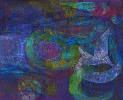 Mixed Media - Dusk Lily by Catherine Redmayne