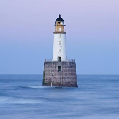 Photograph - Dusk Looking To Rattray Head Lighthouse by Stephen Taylor