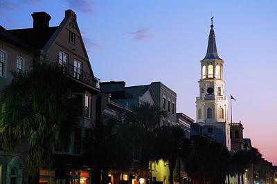Photograph - Dusk On Charleston by James Kirkikis