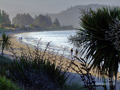 Photograph - Dusk On Golden Bay by Karen Lewis