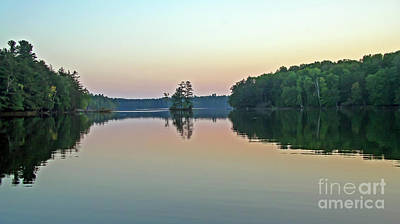 Photograph - Dusk On Long Lake by Kevin McCarthy