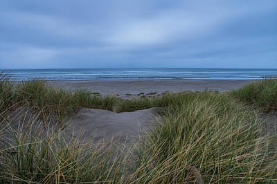 Photograph - Dusk On Nehalem Beach, Or by Jedediah Hohf
