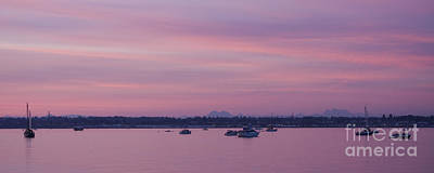 Photograph - Dusk On The Bay by Idaho Scenic Images Linda Lantzy