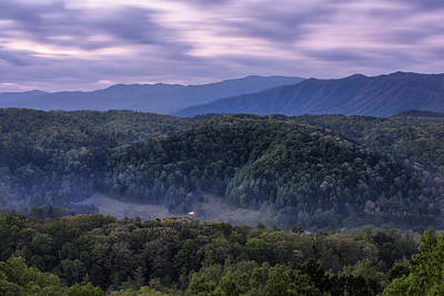 Photograph - Dusk On The Parkway by Jon Glaser