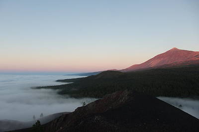 Photograph - Volcanic Dusk - Beautiful Teide by Robert Schaelike
