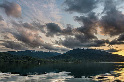 Photograph - Dusk On Wiskeytown Lake by Greg Nyquist