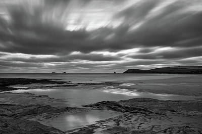 Photograph - Dusk Over Constantine Bay  by Pete Hemington