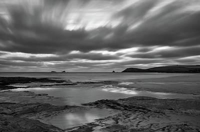 Photograph - Dusk Over Constantine Bay  by Pete Hemington