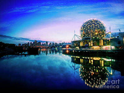 Photograph - Dusk Over Vancouver by Scott Kemper