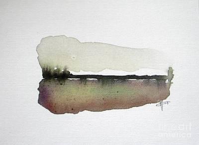 Wall Art - Painting - Dusk Silence by Vesna Antic