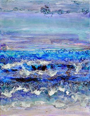 Painting - Dusk Tide by Regina Valluzzi