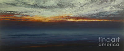 Painting - Dusk by Valerie Travers