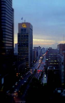 Photograph - Dusk View From My Suite by Rodney Lee Williams