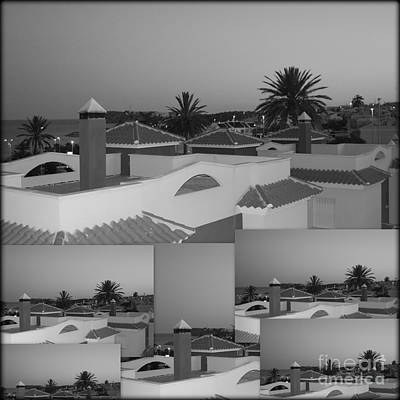 Photograph - Dusky Rooftops by Linda Prewer