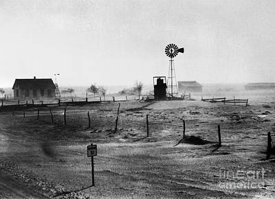 Photograph - Dust Bowl, 1939 by Granger
