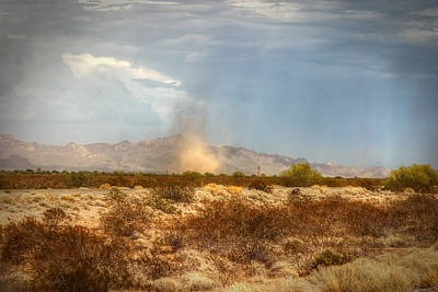 Photograph - Dust Devil by Robert Melvin