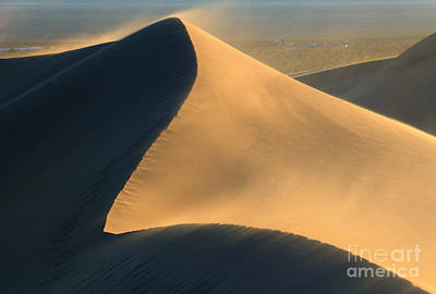 Death Valley Photograph - Dust In The Wind by Mike Dawson