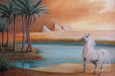 Ancient Civilization Painting - Dust Storm by Corey Ford