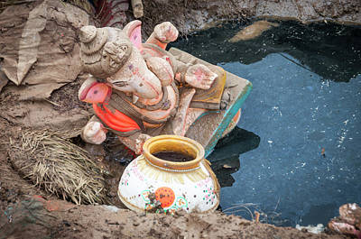 Photograph - Dust Unto Dust. by Usha Peddamatham
