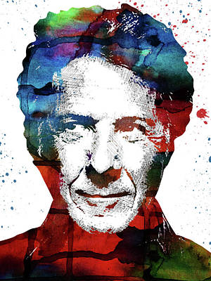 Actors Digital Art - Dustin Hoffman by Mihaela Pater